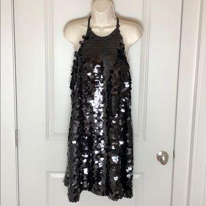 "Crosby ""Ellie"" black sequin Dress NWT"